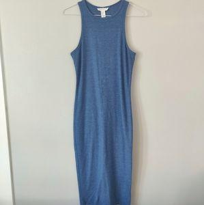 3/$20 - Forever 21 Basic Blue Scoopneck Dress